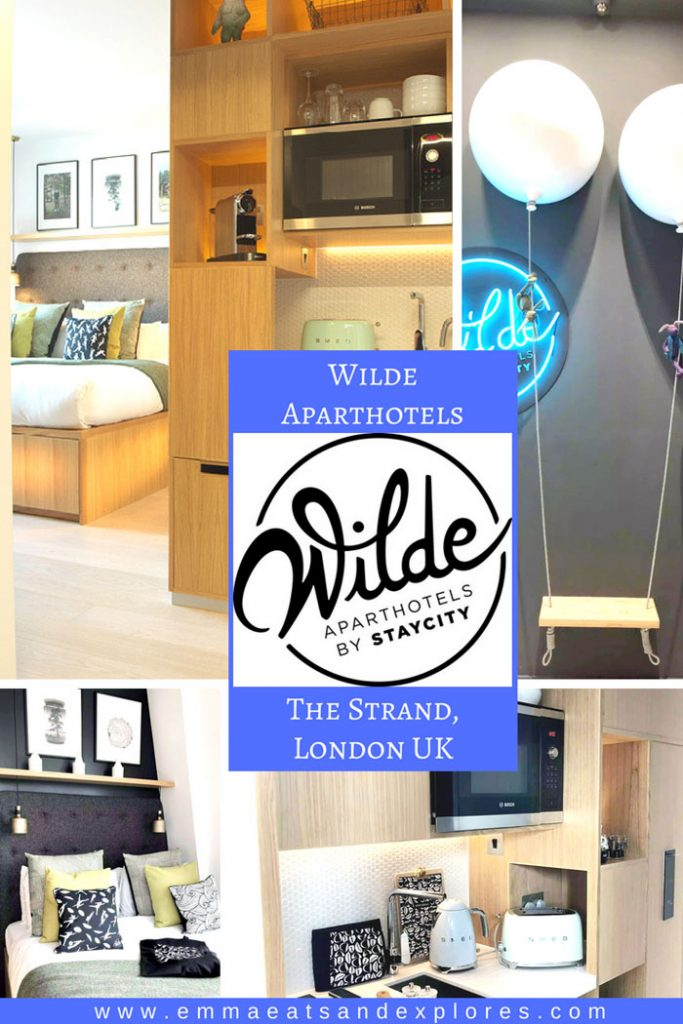Wilde Aparthotel by Staycity, The Strand, London by Emma Eats & Explores
