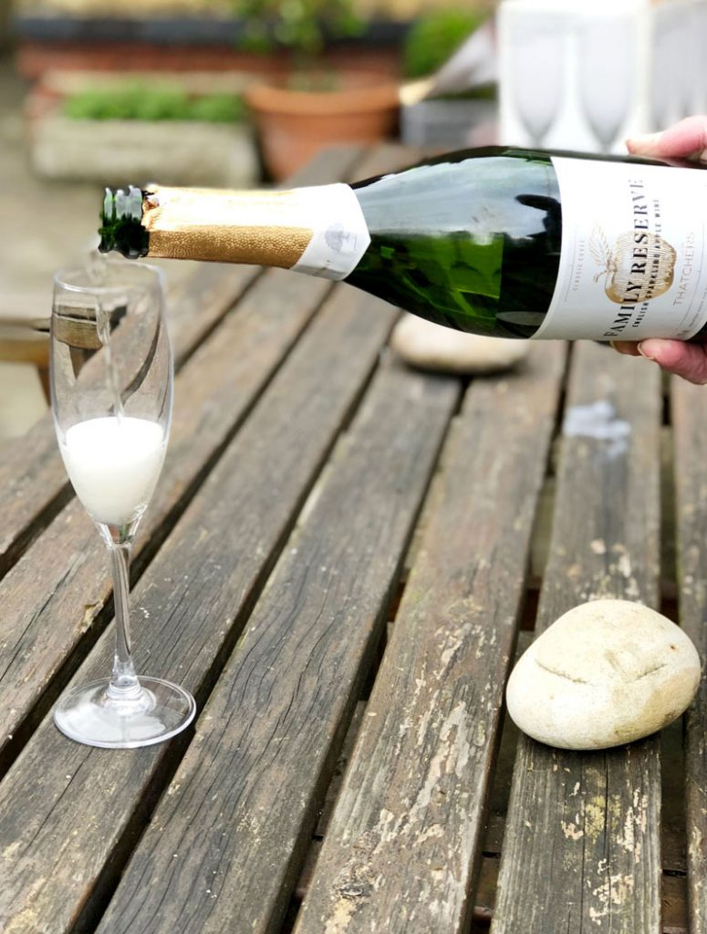 Sparkling Apple Wine - The New Champagne? from Thatchers Family Reserve by Emma Eats & Explores