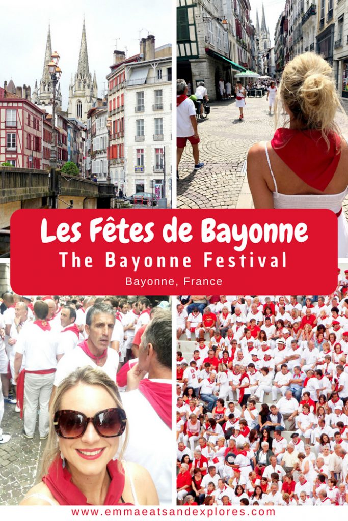 Les Fêtes de Bayone - The Bayonne Festival - Bayonne, France by Emma Eats & Explores