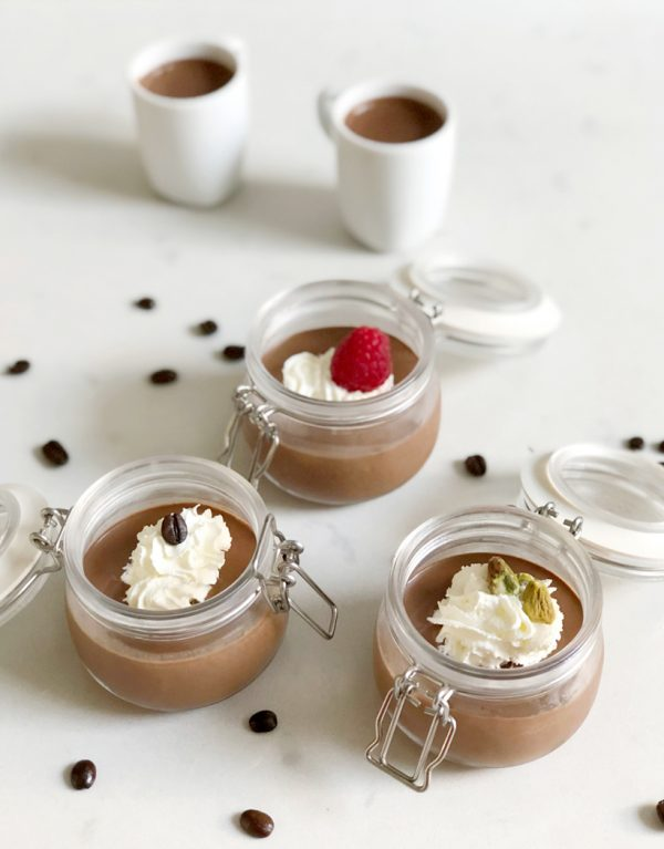 Chocolate Espresso Pots by Emma Eats & Explores - Grainfree, Glutenfree, Dairyfree, Refined Sugarfree, Vegetarian & Vegan