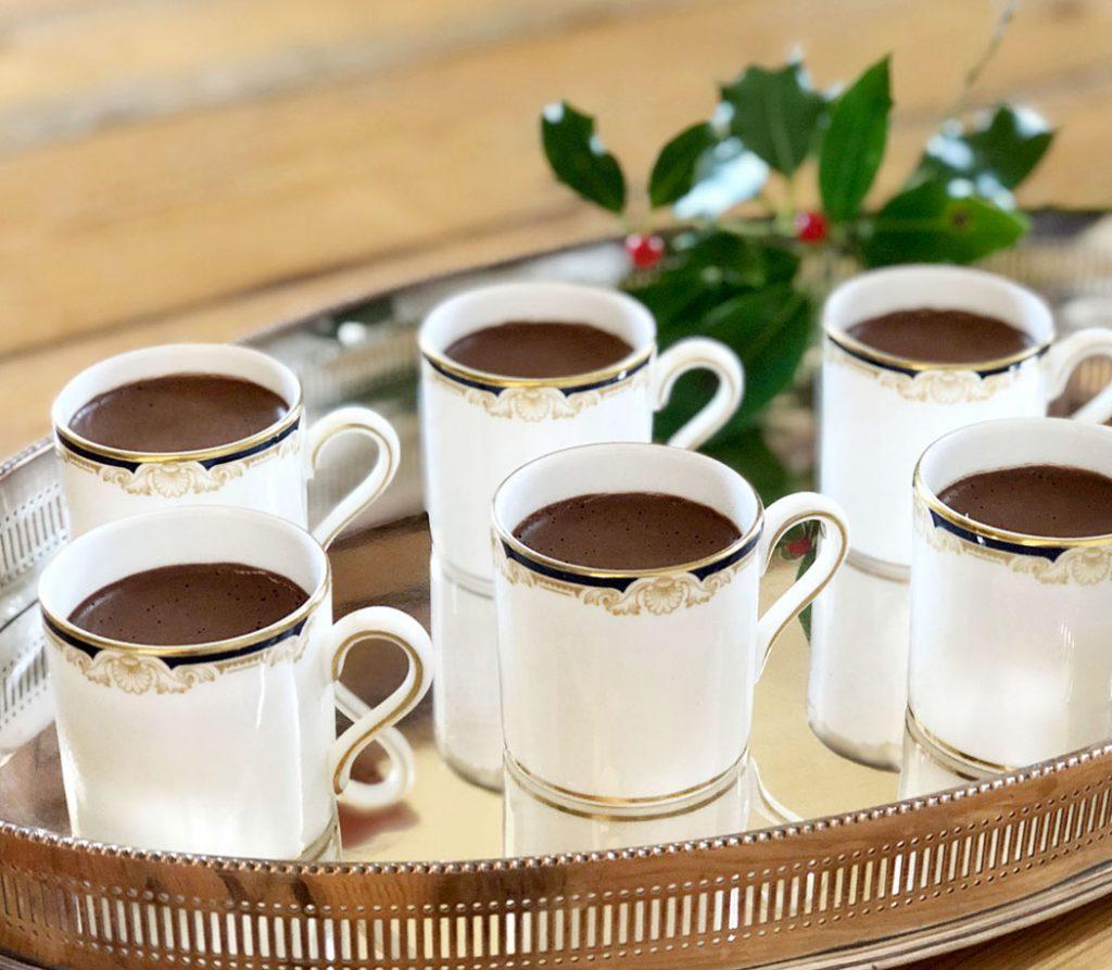 Chocolate Chestnut Pots by Emma Eats & Explores - Grainfree, Glutenfree, Dairyfree, Refined Sugarfree, Paleo, Low Carb & Vegetarian