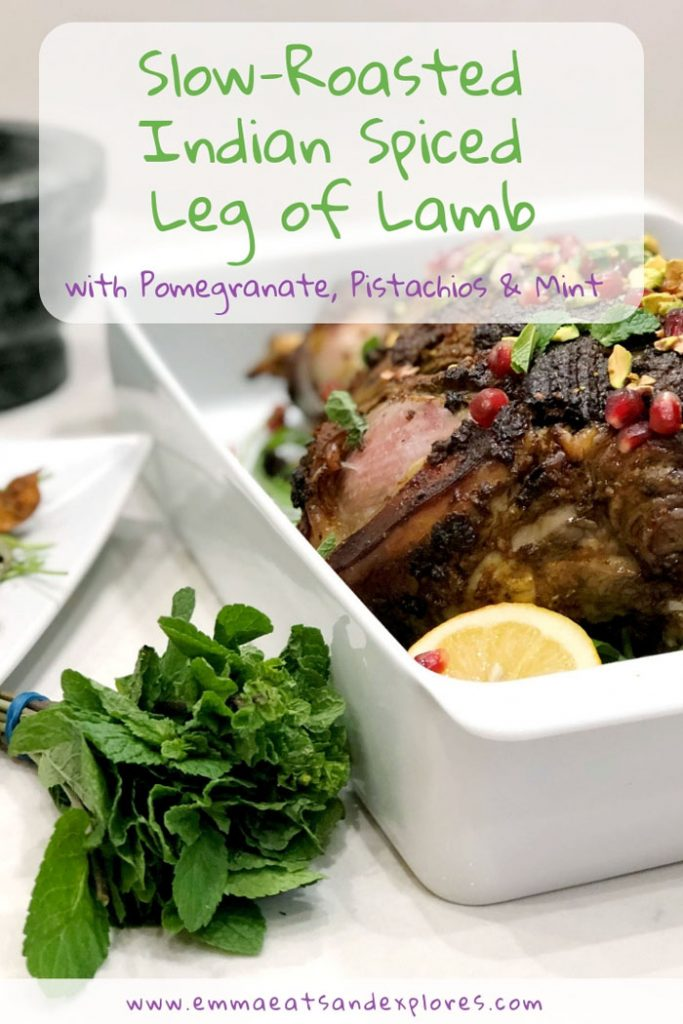 Indian Spiced Leg of Lamb by Emma Eats & Explores- Grainfree, Glutenfree, Refined Sugarfree, Paleo, SCD & Low Carb