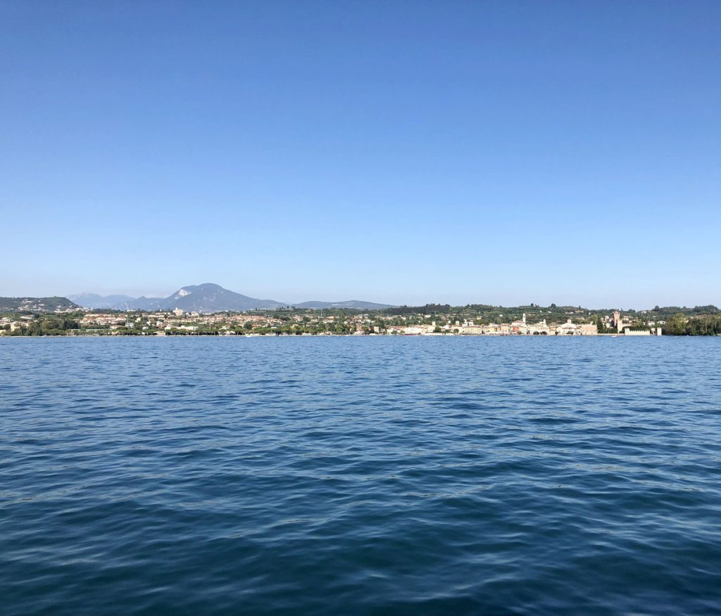 Lake Garda, Italy - view from our boat